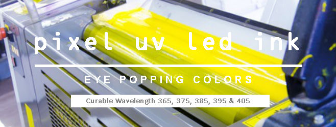 pixel uv led ink